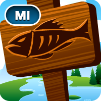 iFish Michigan App Icon
